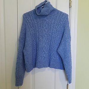 J Crew cropped sweater